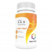NutraBlast Vitamin A & D3 10,000 / 400IU Retinol Palmitate and Cholecalciferol - Supports Eye, Skin, and Hair Health - Made in USA