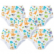 Bambino Mio, Potty Training Pants, Dino, 18-24 Months, 5 Pack