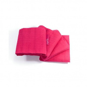 Faye and Lou Muslins Pack of Four in Fuchsia Pink