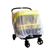 Affe Universa Baby Infant Twin Stroller Pushchair Mosquito Insect Net Mesh Buggy Cover