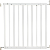 Badabulle B025215 Wooden Safety Gate Colour Pop White