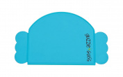 guzzie+Guss Perch Silicone Placemat, Blue