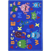 Joy Carpets Kid Essentials Early Childhood Monster Mash Rug, Multicoloured, 1.5m x 2.1m