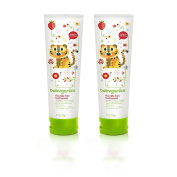 Babyganics Fluoride Free Toothpaste 120ml, Strawberry - 2 Count