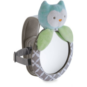 Carter's Child of Mine Plush Car Mirror, Cat - Back Seat Rear-facing Infant In Sight