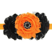 Bilila Baby Girl Halloween Headdress Elastic Hair Band
