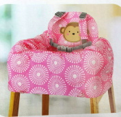 Child of Mine Shopping Cart and High Chair Cover, Pink
