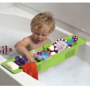 KidCo Funtime Bath Storage Basket, Green
