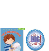 I'm A Big Brother Book and Button