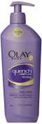 Olay Quench Plus Firming Body Lotion, 400ml (Pack of 2) by Olay