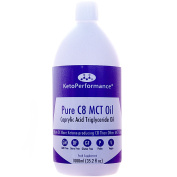 Premium C8 MCT Oil | Boosts Ketones 3X More Than Other MCTs | Highest Purity of C8 MCT Available with 99.6% Purity | Pure Caprylic Acid Triglycerides | Paleo & Vegan Friendly | Gluten Free | BPA-Free 1000ml Bottle | Ketosource®