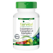 Fairvital - Tocotrienol-Tocopherol Complex - (Vitamin E from Natural Oil Palm Extract) - 60 Licaps®