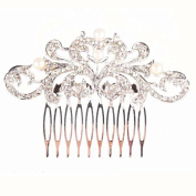 Fashion pearls handmade bridal Hair Combs