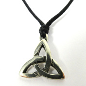Trinity Knot Legend Pewter Choker
