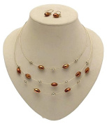 Necklace and Earring Set Jewellery Sets Necklaces For Women Multi Strand Necklace