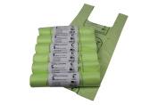 5L x 300 Tie Handle Compostable Kitchen Caddy Liners - Food Waste Bin Liners - EN 13432 - 5 litre Bags