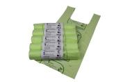 5L x 250 Tie Handle Compostable Kitchen Caddy Liners - Food Waste Bin Liners - EN 13432 - 5 litre Bags