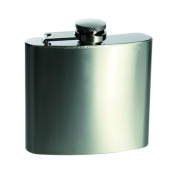 Number One Selling Metal Hip Flask 140ml - Great For Fishing - Christmas Xmas Secret Santa Stocking Filler Birthday Valentines Anniversary Gift Present Idea - Gens Men Mens Man Him - One Supplied