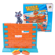 Wall Game Pushing Out Bricks Boys Girls Play Game Toy Set