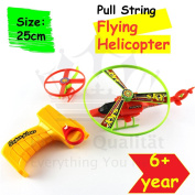 Flying Helicopter No Batteries Required Flies Up To 10 Metres Safe For Kids