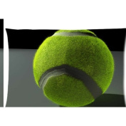 tennis picture Zippered Pillow Cases Cover 50cm x 80cm