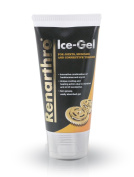 Renartho Ice-Gel150 ml - With Extracts of Frankincense, Myrrh, Menthol and Eucalyptus Oil. Non-greasy gel for massaging joints, muscles and connective tissues