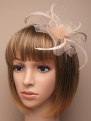 Allsorts® Latte Light Brown Aliceband Hat Fascinator Weddings Ladies Day Race Royal Ascot