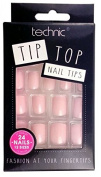 Technic Pack Of 24 Tip Top False Nail Tips - Peach