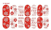 Cartoon Decal Nail Stickers Christmas Decoration Noctilucous YB-Q167 Nail Sticker Tattoo - FashionLife