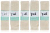 Pai Skincare Organic Muslin Face Cloth 5 Pieces