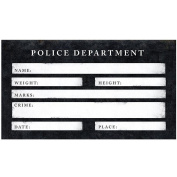 photo prop, Under Arrest! Police Sign Cards, perfect for photo shoots, weddings, parties, stag, hen etc etc