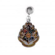 Official Harry Potter Jewellery Hogwarts Crest Slider Charm Bead