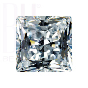 Be You White Cubic Zirconia AAA Quality 3x3 mm Princess Cut Square Shape 100 pcs loose gemstone