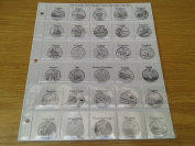 Coin Album Pages for Olympic 50p Collections