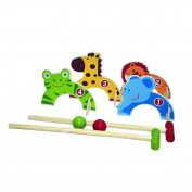 Outdoor Play Croquet Set