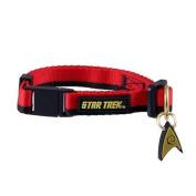 Pets Supply - Cat Collar - Star Trek - Uniform Red New STOP277