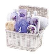 Iris Blueberry Spa Gift Basket