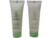 Simply be Well Ginseng Wild Mint Shampoo & Conditioner lot of 18