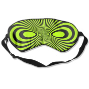 Black Mask Natural Silk Eye Mask For Travelling