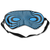 Black Mask Natural Silk Eye Mask For Nap
