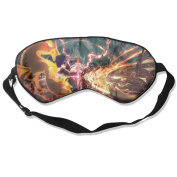 Naruto Ultimate Ninja Storm Natural Silk Deep Rest Eye Mask For Travelling