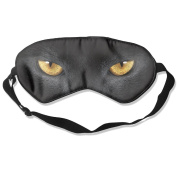 Black Panther Eyes Natural Silk Deep Rest Eye Mask For Blocking Out Lights