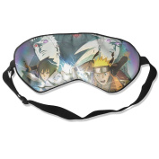 Naruto Obito Madara Natural Silk Eye Mask For Blocking Out Lights