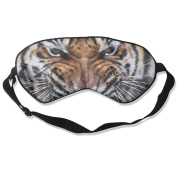 Tiger Eyes Natural Silk Eye Sleep Mask For Blocking Out Lights