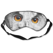 Smiling Owl Eyes Natural Silk Eye Sleep Mask For Travelling