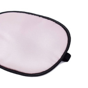 Akak Store 100% Mulberry Silk Pirate Eye Patch for Adult Women Girls to Reat Lazy Eye /Amblyopia /Strabismus - Not Light Leak,Smooth ,Soft and Comfortable(Large,Pink)