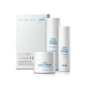[atomy] atomy aqua 3 set / atomy aqua toner 150ml(5.1oz) / atomy aqua serum 50ml(1.7oz) / atomy aqua cream 80ml