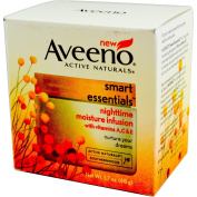 Aveeno, Active Naturals, Smart Essentials, Nighttime Moisture Infusion, 50ml (48 g) - 2pc
