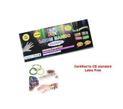 Loom Bracelet Band Kit. Includes Tool & Looms to make your own colourful wrist Bands by DML