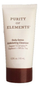 Purity of Elements Daily Detox Exfoliating Cleanser 45ml Deluxe Travel Size